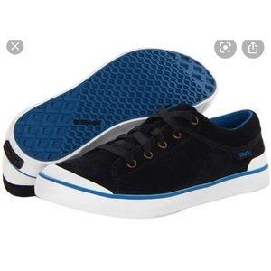 Teva Freewheel Washed Canvas Shoe Size 8